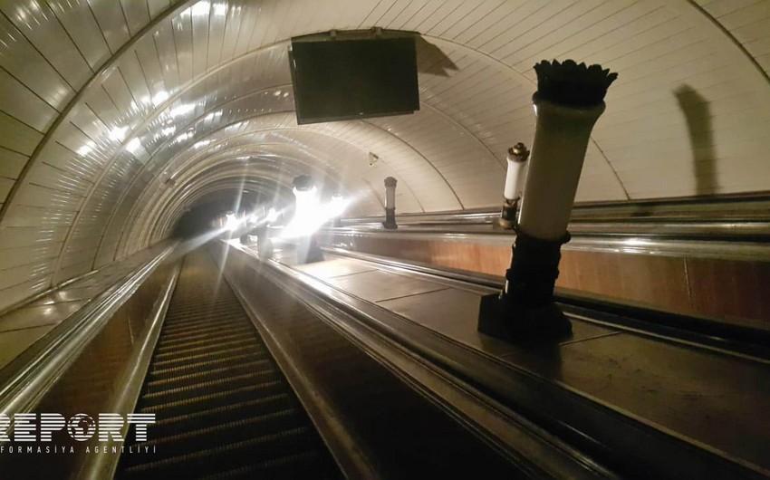 Bakı metrosunda sərnişinlərin təxliyyəsi uğurla başa çatıb - FOTO - VİDEO - YENİLƏNİB-2
