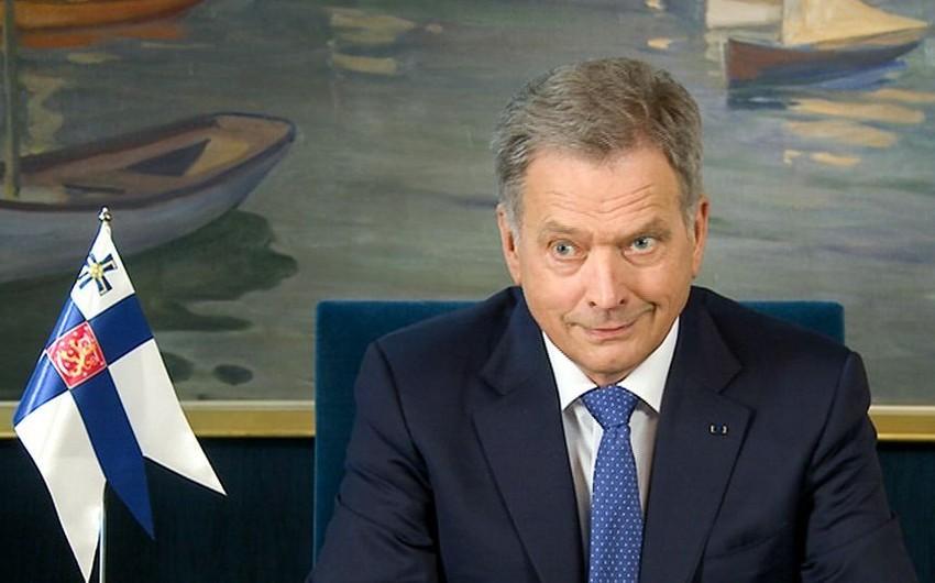 Finlandiya Prezidenti: Dağlıq Qarabağ münaqişəsinin həll olunacağına indiki məqamda optimist yanaşıram
