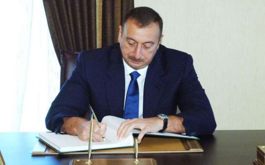 Prezident İlham Əliyev Yardımlı Rayon İcra Hakimiyyətinə 1,4 milyon manat ayırıb