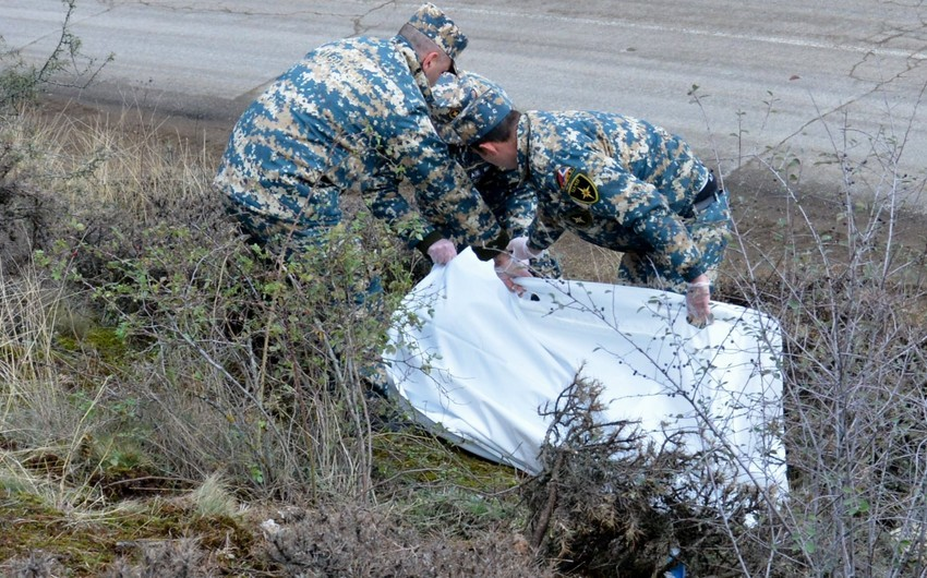 Remains of another Armenian serviceman found in Fuzuli
