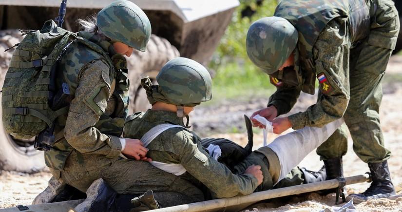 Rusiyalı hərbçilər MAR-da hücum zamanı yaralandı