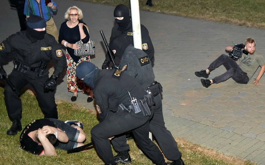 Belarus unrest : Over 2000 detained in past 24 hours