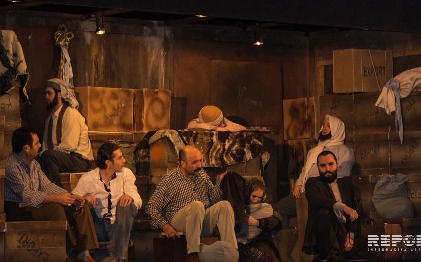 Ankara Dövlət Teatrı Bakıda Nereye tamaşasını təqdim edib