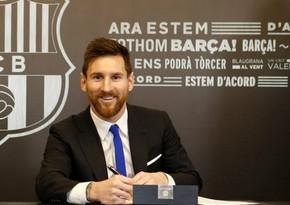 Lionel Messi yaxın saatlarda Barselona ilə müqaviləsini yeniləyəcək
