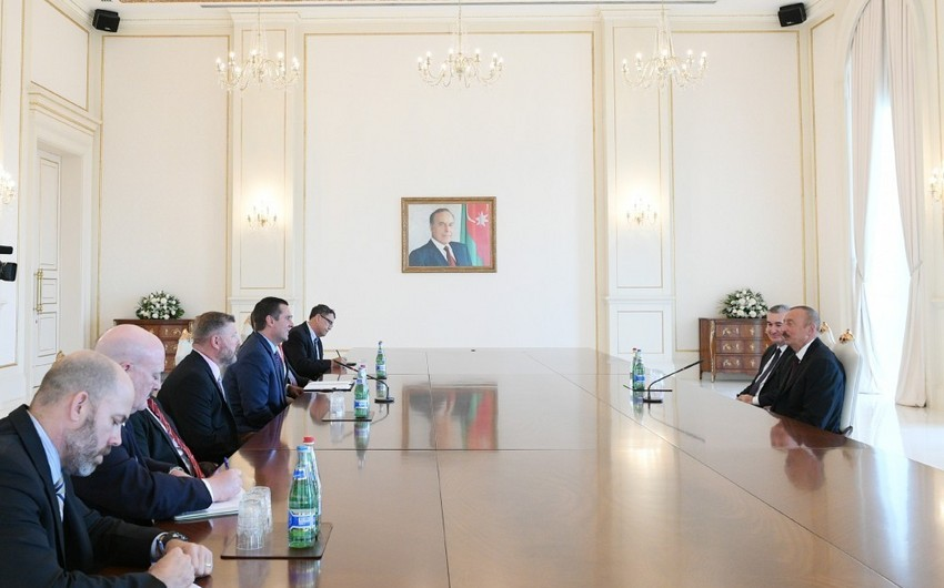 President Ilham Aliyev received US Congress delegation