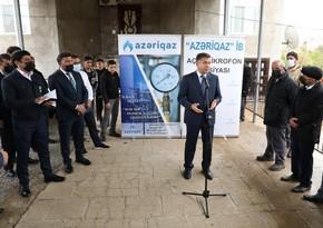 """""""Azəriqaz""""ın baş direktoru 3 kəndin qazlaşdırılması ilə bağlı tapşırıq verdi"""