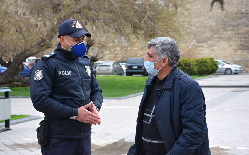 В Азербайджане возросли случаи нарушения правил особого карантинного режима