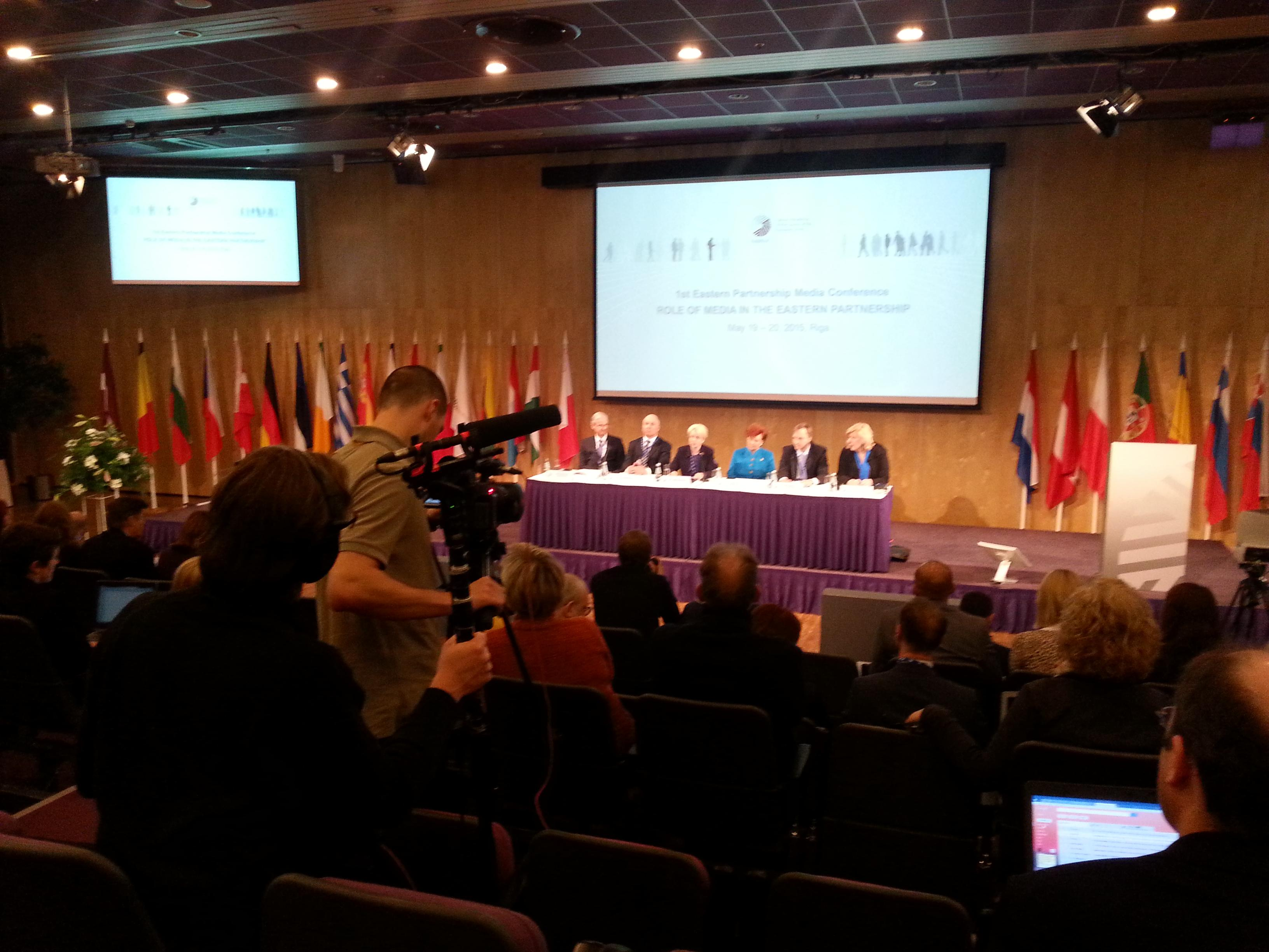 Riga hosts I Media Conference of Eastern Partnership countries