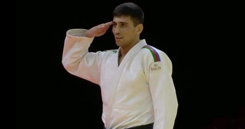 Rüstəm Orucov qızıl medal qazandı