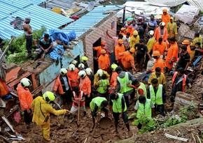 Число погибших из-за ливней и оползней в Индии достигло 138