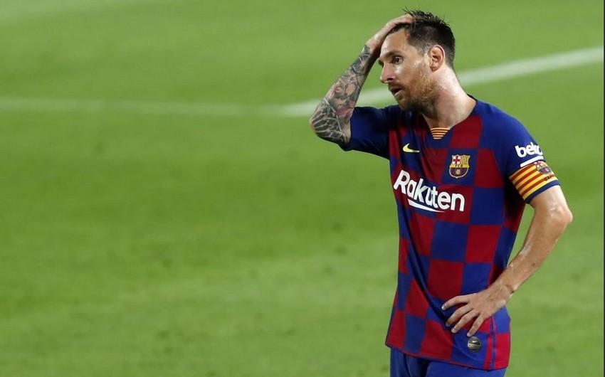 Messi İspaniya çempionatının rekord sayda ən yaxşı bombardiri oldu