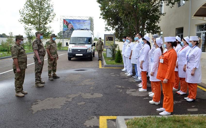В Гяндже состоялось открытие нового отделения Военного госпиталя