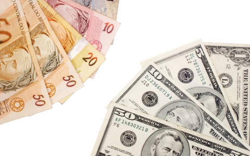 Braziliya Mərkəzi Bankı son 10 ildə ilk dəfə dollar satacaq