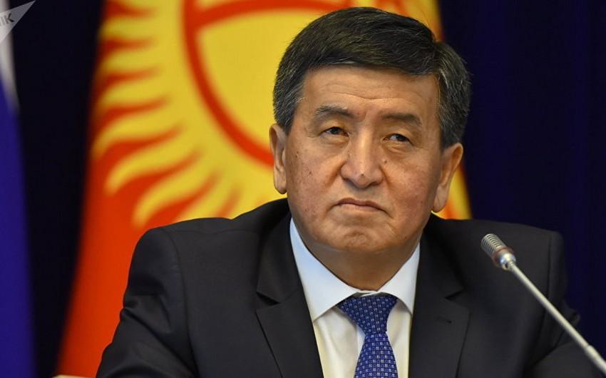 Qırğız Respublikasının prezidenti Qazaxıstana rəsmi səfər edəcək