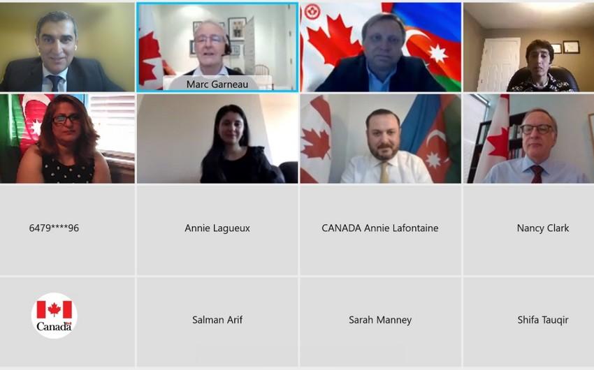 Kanadanın XİN başçısı Ermənistanın mina xəritələrini verməməsi barədə məlumatlandırılıb