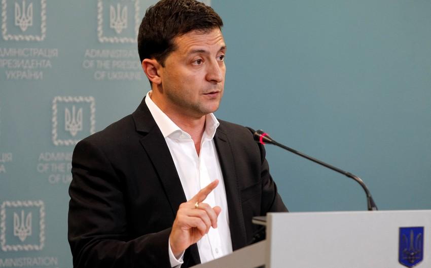 Vladimir Zelenski seçkilərdə səs verib