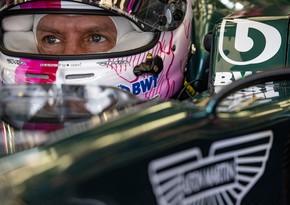 Formula 1: Fettelin də bolidi sınaq yürüşündə sıradan çıxdı