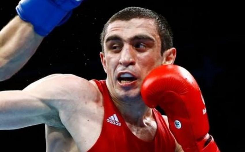 Rio-2016: Azərbaycan boksçusu Albert Səlimov mübarizəni dayandırıb