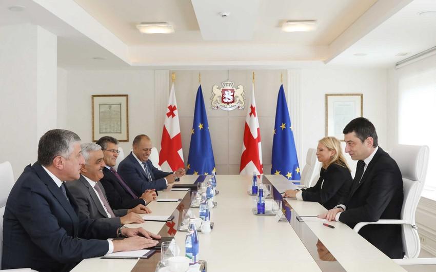 Президент SOCAR встретился с премьер-министром Грузии