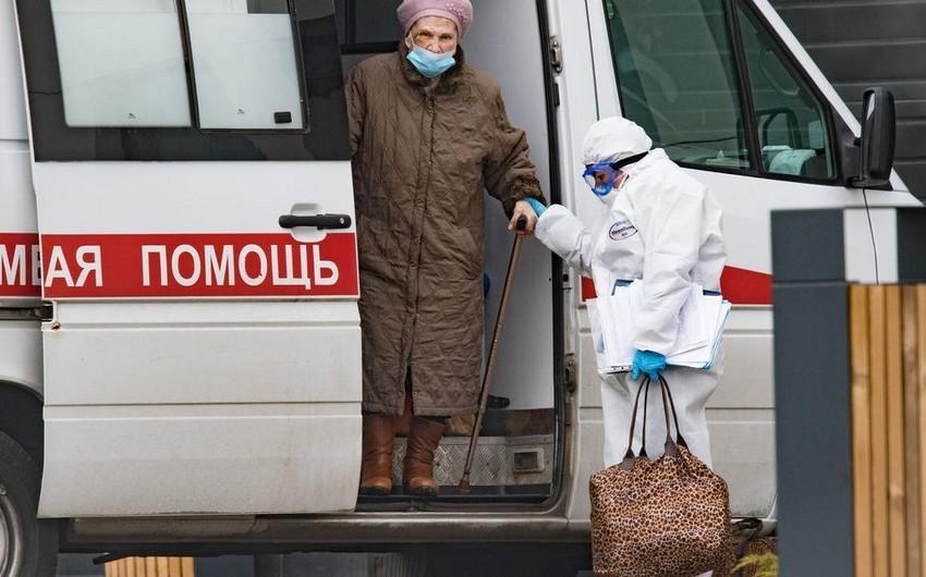 Rusiyada koronavirusa yoluxanların sayı 134,6 mini ötdü