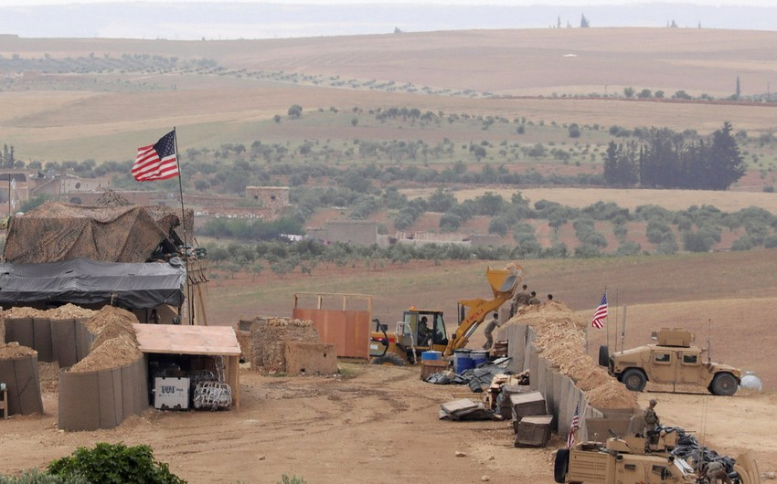 ABŞ-ın Suriyadakı hərbi bazası atəşə tutulub