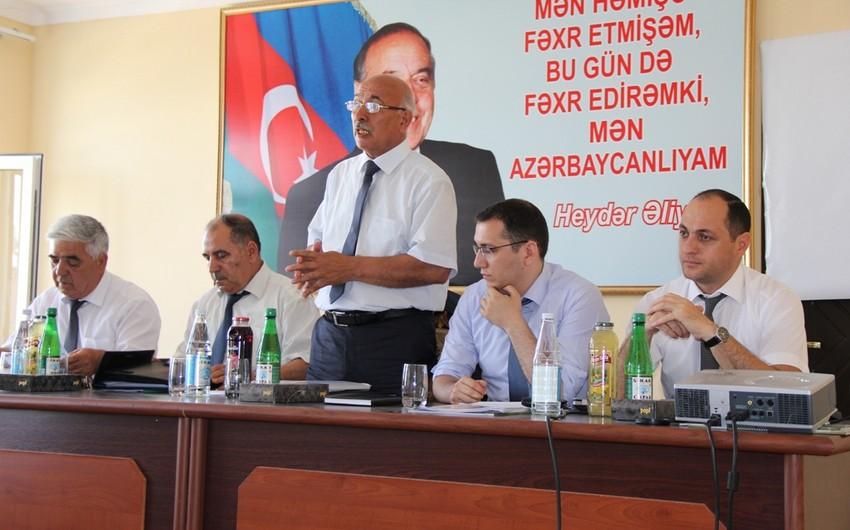 ASK Ağcabədidə fermerlərə təlim keçib