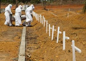 Qvineyada Ebola qızdırmasından ölənlərin sayı artır