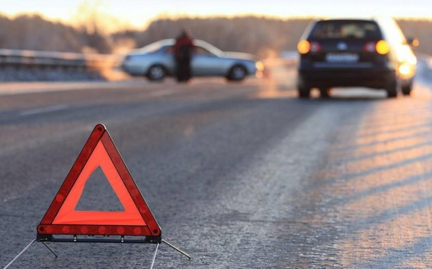 На трассе Баку-Губа водители устроили драку