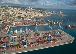 First maritime cargo shipment from UAE enters Haifa Port