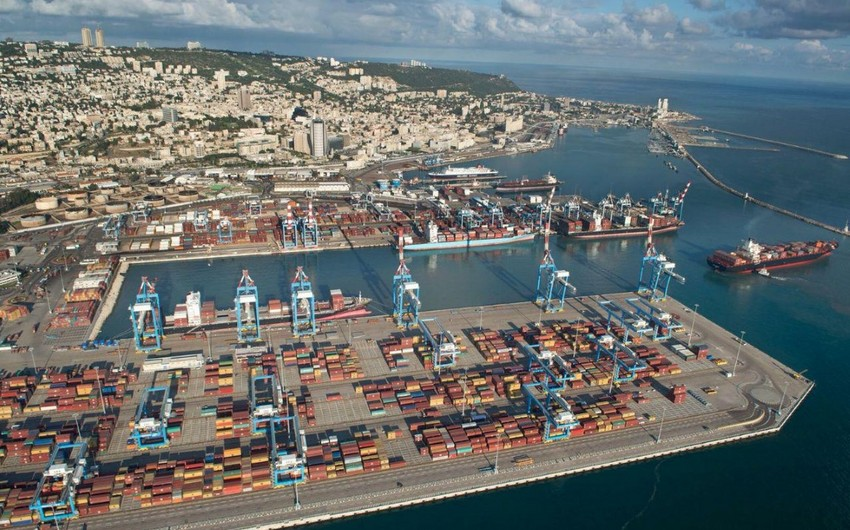 First maritime cargo shipment from UAE enters Haifa Port