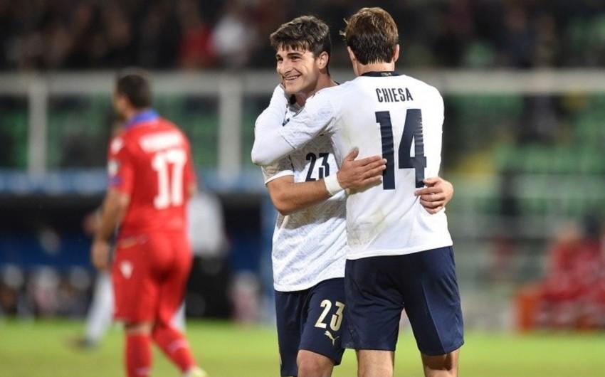 Евро-2020: Итальянцы уничтожили Армению, сборные Швейцарии и Дании вышли в финал