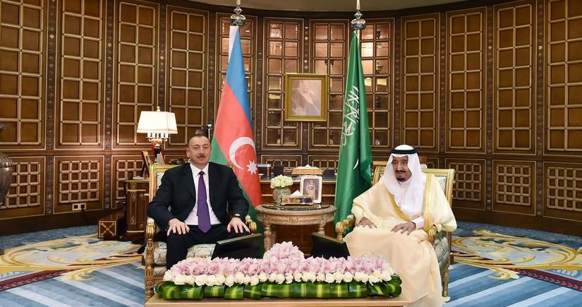 Президент Азербайджана поздравил короляСаудовской Аравии