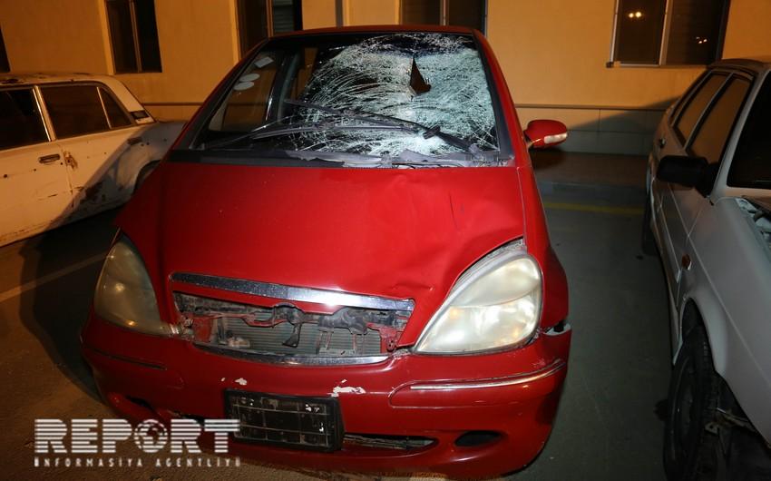 Abşeronda iki avtomobil piyadanı vuraraq öldürüb - YENİLƏNİB - FOTO - VİDEO