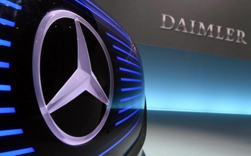 Daimler 10 mindən çox işçisini ixtisar etmək istəyir