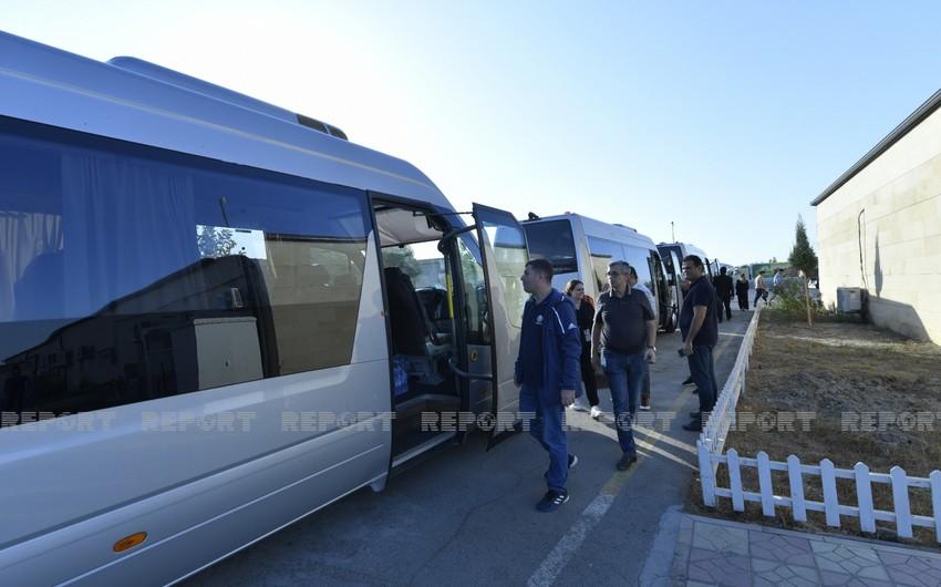 Representatives of Azerbaijani youth organizations embark on visit to Shusha