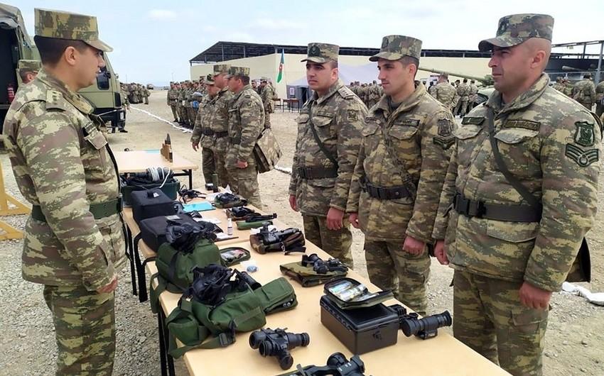 Azərbaycan Ordusunda silah və hərbi texnika yay rejiminə keçirilir - VİDEO