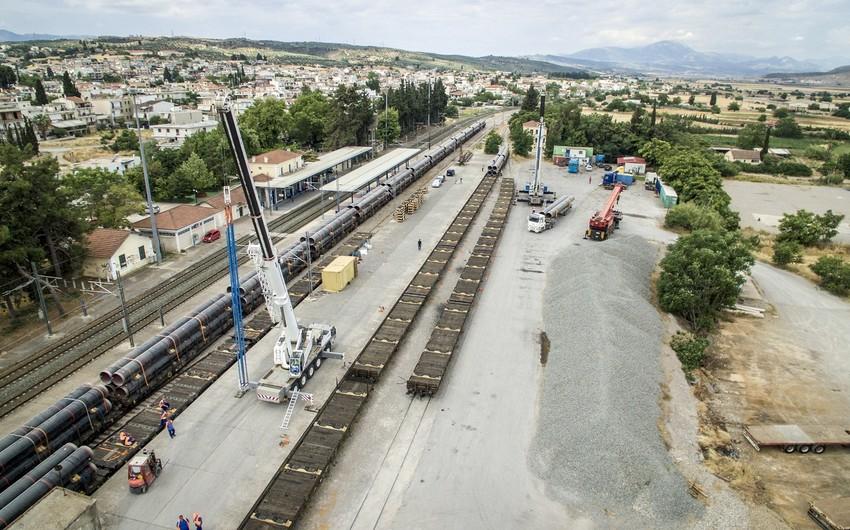 Yunanıstan və Albaniyada TAP-ın 620 km hissəsində borular düzülüb