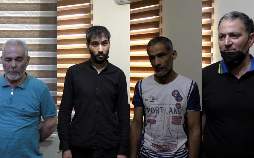 Şirvanda polis xüsusi əməliyyat keçirdi, 4 nəfər saxlanıldı