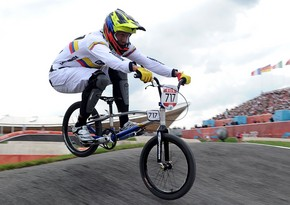 BMX bike races start at Baku 2015 - LIVE