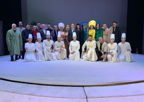 В Русской драме состоялся спектакль Семь красавиц