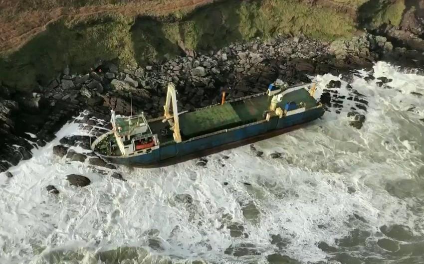 İki il əvvəl itmiş kabus gəmi İrlandiya sahillərində göründü - FOTO - VİDEO