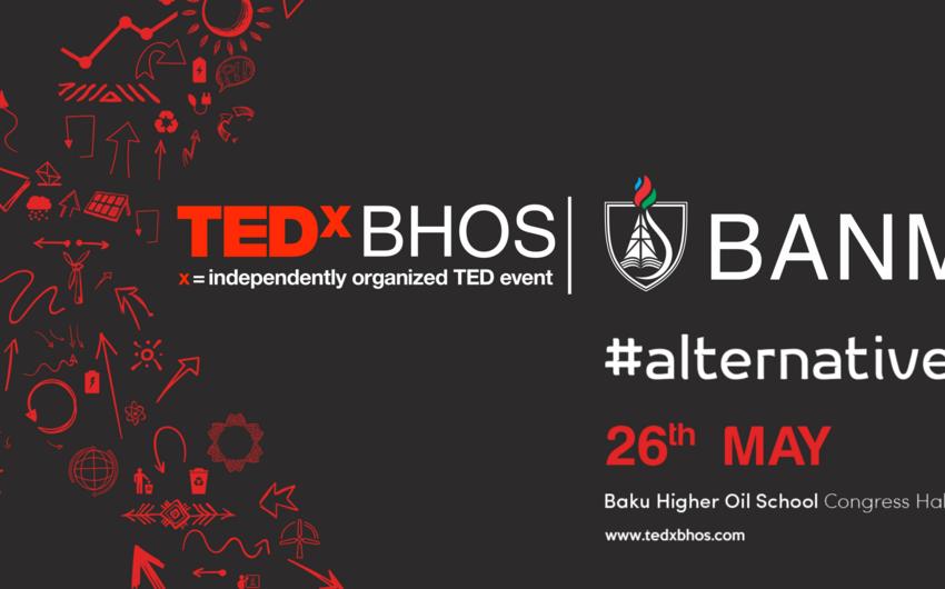 Bakı Ali Neft Məktəbində TEDxBHOS keçiriləcək