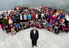 В Индии умер глава самой большой семьи в мире