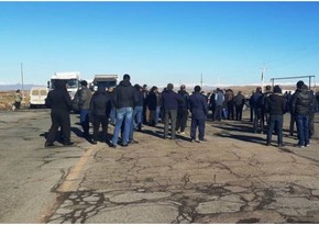 Armenian residents block Gyumri-Yerevan highway