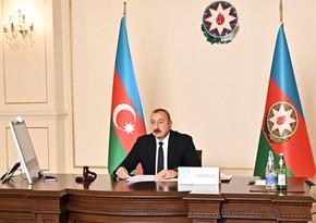 Президент Азербайджана выступил на заседании высокого уровня Движения неприсоединения