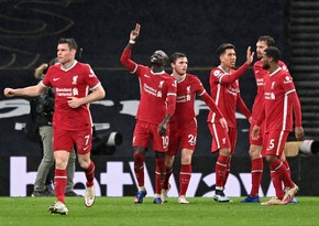 Ливерпуль, прервав безголевую серию, обыграл Тоттенхэм в матче АПЛ