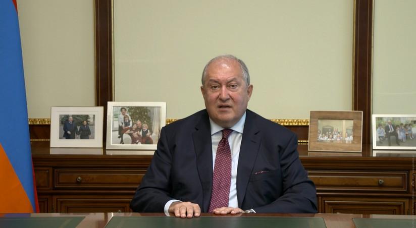 Ermənistan prezidenti Brüsselə gedib | Report.az