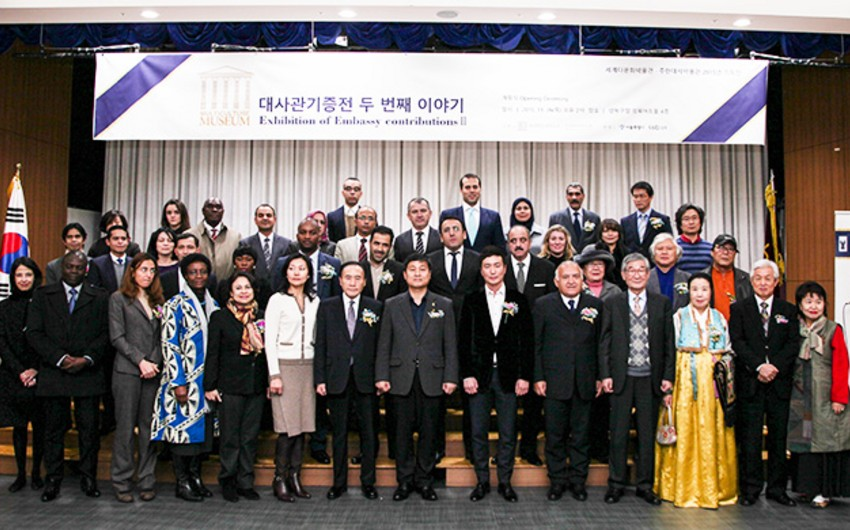 Azerbaijan represented at exhibition of foreign embassies in Korea