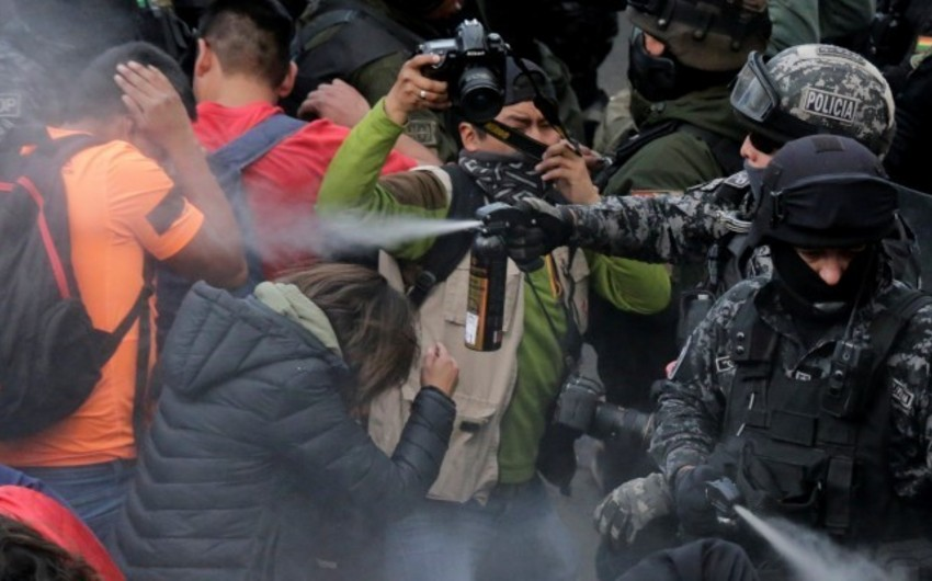 Bolivia's presidential election sparks protests