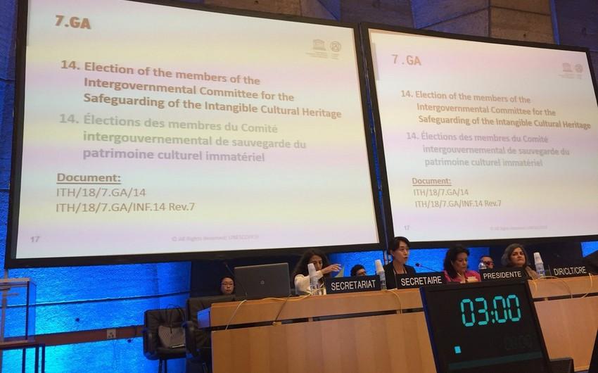 Азербайджан избран членом комитета ЮНЕСКО по охране нематериального культурного наследия